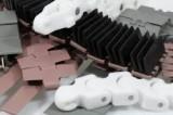 Metāla un plastmasas konveijeru ķēdes