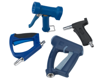 Industriālās mazgāšanas pistoles